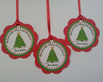 Christmas,Holiday  Favor Tags