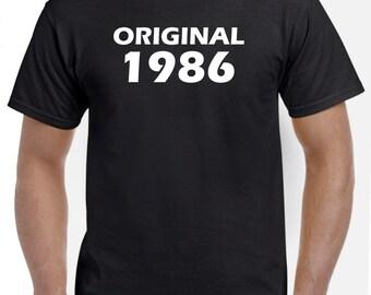 32nd Birthday Shirt Gift-Original 1986