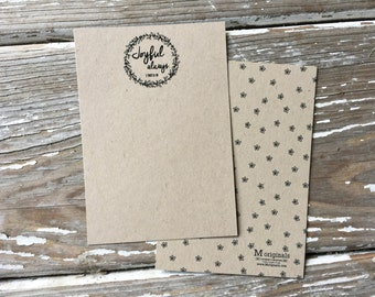 Personalized Note Card Set - Set of 8 - The Joy Note