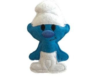 Smurf inspired Catnip Toy