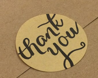 Thank You Craft Stickers - Qty 60