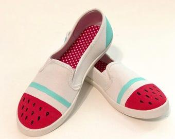 Watermelon Design Shoes