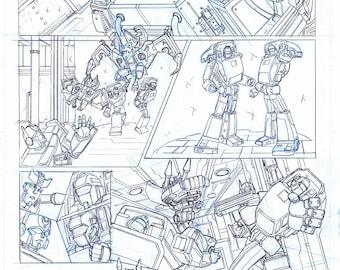 Transformers Original Comic Page 4