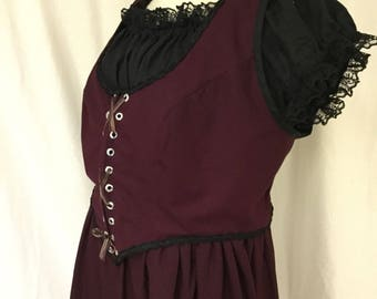 Plus Size Victorian Steampunk Dress