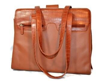 Buxton Leather, Computer Case, Attache, Laptop Case