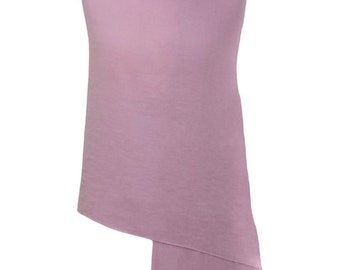 Lilac Handmade 100% Pure Cashmere Shawl Wrap Scarf - Pashminas and Wraps - Also available In 36 Other Colours