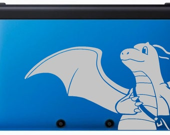 Dragonite with messenger bag Decal