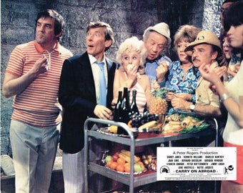 Carry On Abroad - 1972 - Original color movie still