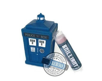 "The 13th Doctor ""Brilliant"" - Doctor Who Inspired Lip Balm - Pink Lemonade Flavor Geek Stix - Pink Shimmer"