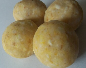Oatmeal Milk & Honey Cold Process Soap Balls - Bag of 8 (1) oz. each SALE