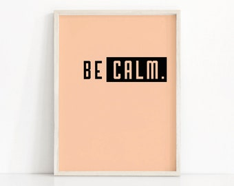 Instant Download Wall Art Print, Minimalist Art, Printable Wall Art, Modern Typography Print, Minimalist Poster, Inspirational Quote Print