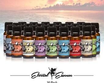 Fragrance Oil Gift Set 30 Count Pack 10ml