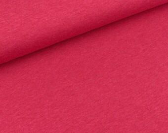 Bio-single-Jersey lampone melange (18.50 EUR / meter)