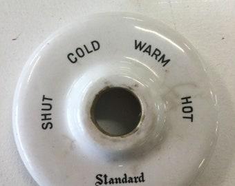 Standard Mixometer, Vintage Porcelain Shower Fixture