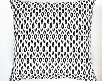 Indigo and White Pillow Cover,Blue and White