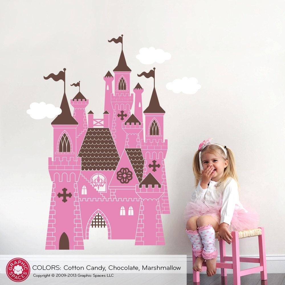 Princess Castle Wall Decal: Castle Decal Fairy Tale Princess