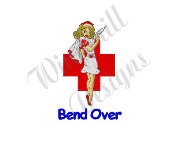 Naughty Nurse Machine Embroidery Design From Designsbywindmill On