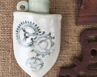 Tiny patterned Flask