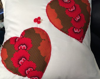 Cushion from the heart. show Mum you love her!