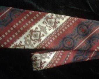 Vintage Men's Retro Necktie Wembly