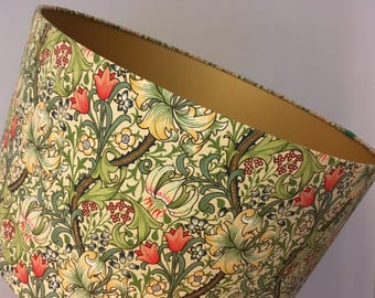 Lamp shades etsy william morris golden lily handmade lampshade various sizes aloadofball Images