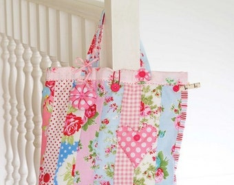 Patchwork Project Bag Sewing Pattern 803082