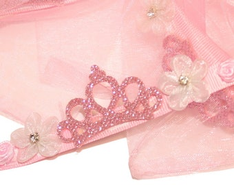 Ballet Birthday Party Favors - BUNFUN™ Flower and Crown Wreath Garland for your Ballet Bun
