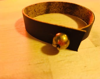 Bauble: Wrapped Leather Bracelet