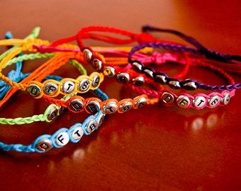 DFTBA Beaded Bracelet