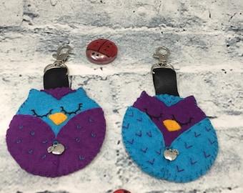 Owl gift, teacher keyring, Thank you, Owl keyring