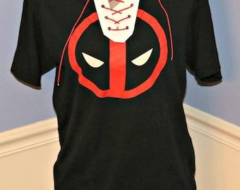 Deadpool Lace Up T-Shirt