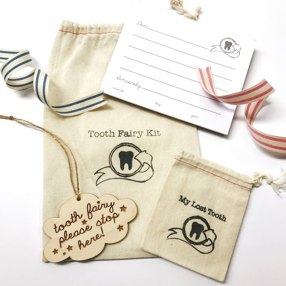 deluxe TOOTH FAIRY letter kit.