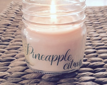 Pineapple Citrus Soy Candle