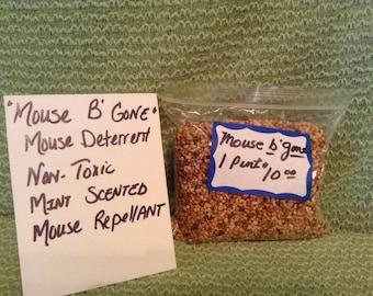 Mouse B Gone, Mint Scented Mouse Repellent, Non Poisonous
