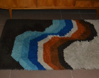 Vintage Space Age Carpet 70s