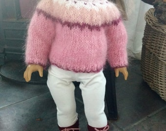Cotton Candy Pink Sweater Set