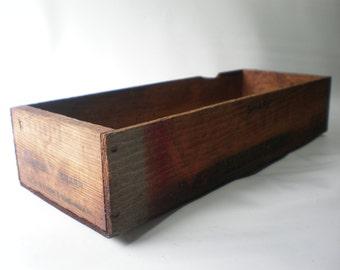 Vintage Advertising Tray Box