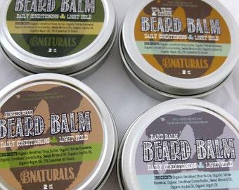 Beard Balm - Argan Oil, Jojoba Oil, Beard Conditioning, Beard Styling, Beard Grooming
