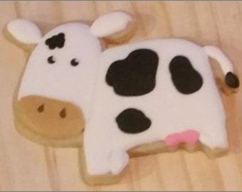 Cow Sugar Cookie