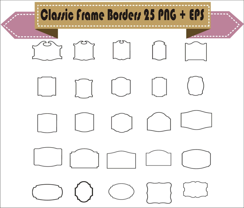 Classic Frames Frame Vector Vintage Retro Clipart Cowboy PNG