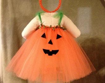 Pumpkin Halloween Tutu Costume