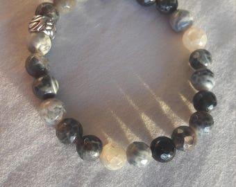 Agate Bead Bracelet: precious