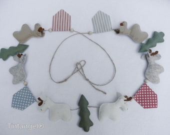Christmas Garland - PDF pattern - Download