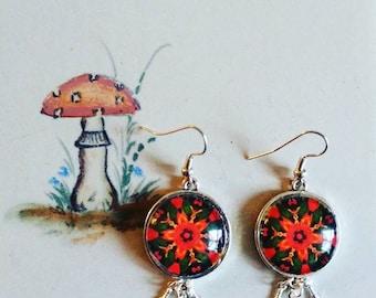 Mandala Dream Catcher Earrings