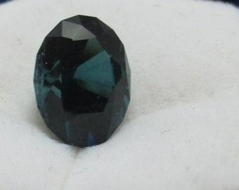 Blue Tourmaline Gemstone 10.7x7.7mm