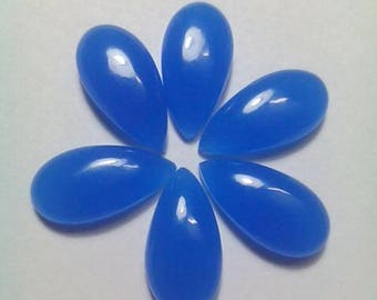 Blue Chalcedony 20 MM Cabochon