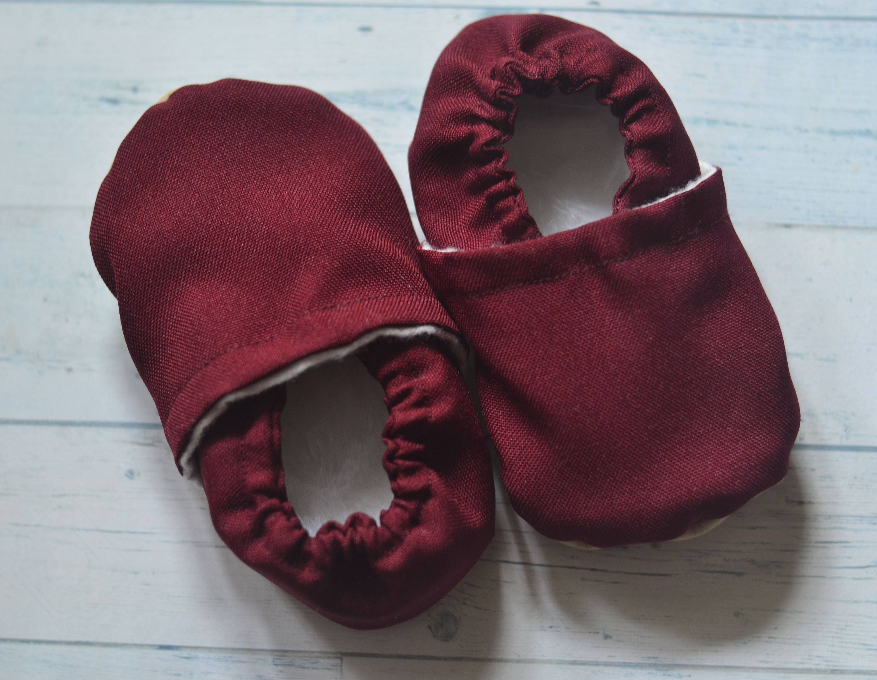 burgundy baby shoes red girl shoes burgundy booties red kids
