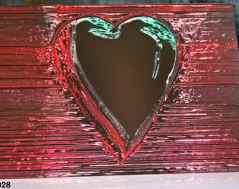 Abstract Heart - Valentine Card