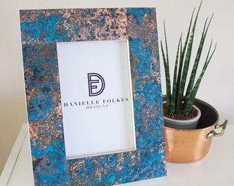 Patinated Copper Frame