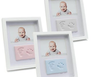 Double Frame with Clay Hand or Foot Impression Kit
